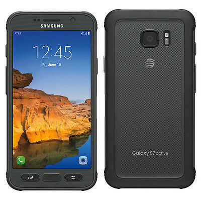 Samsung Galaxy S7 active SM-G891A (Latest) 32GB Titanium Gray  AT&T GSM UNLOCKED