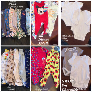 Boy clothing from 0-12 months