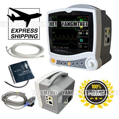 Best NEW CMS6800 HOSPITAL ICU MULTI-PARAMETER VITAL SIGNS PATIENT MONITOR CARDIAC MACHINE