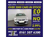 Vauxhall Astra Design Hatchback 1.4 Manual Petrol BAD GOOD CREDIT