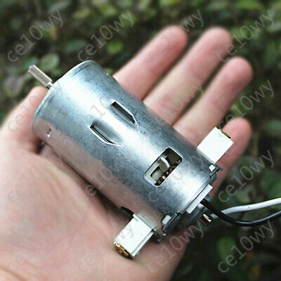 120v Dc Motor Ball Bearing 12-pole Rotor Brushed Electric Motor Generator Diy
