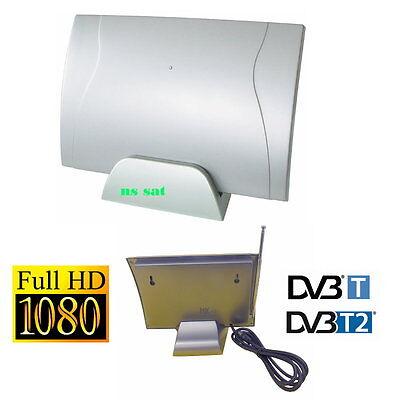 DVB-T DVB-T2 Zimmer Flachantenne