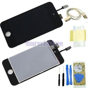 Fur iPod 4 Touch iPod 4G LCD Display + Touchscreen Glass Reparatur Schwarz