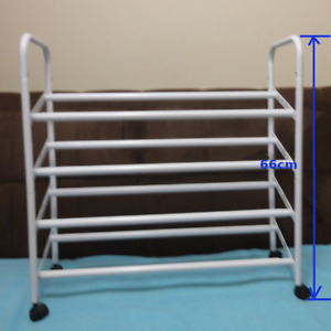 1 SHOE-RACK: expandable/dividable into 2 units/& more($45 O.B.O)