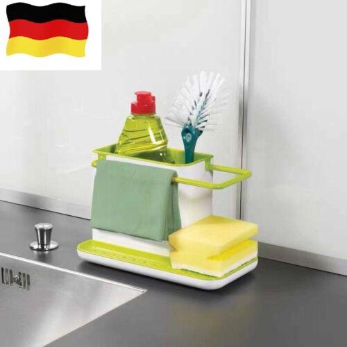 Spülbecken-Organizer Küche Utensilienhalter Ablage für das Spülbecken Reiniger B
