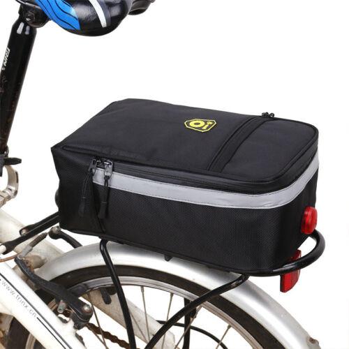PVC Battery Case Storage Bag Rear Rack light for Electric Bi