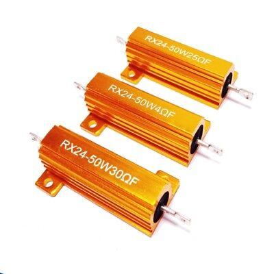 50100w 0.01-50 Ohm Watt Shell Power Aluminum Housed Case Wirewound Resistor
