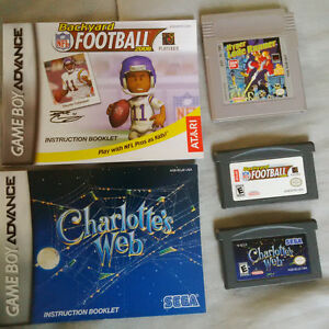 Gameboy Advance & Color Games