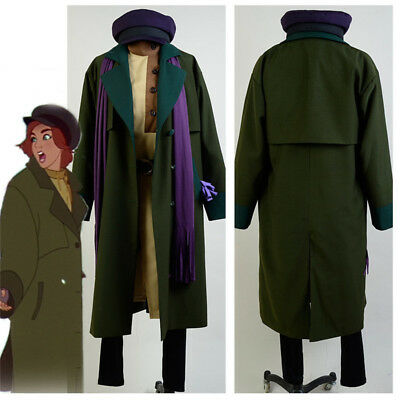 1997 Anastasia Romanov Anya Uniform Suit Outfit Unisex Cosplay Costume Halloween - Anastasia Costume