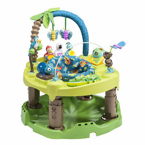 Evenflo jungle excersaucer