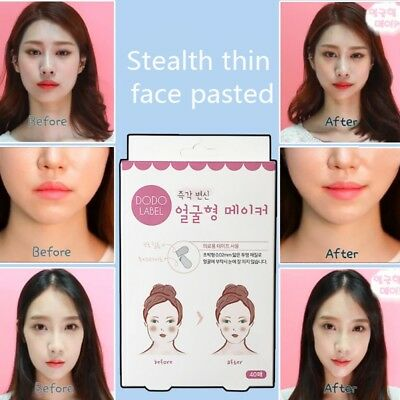 V Shape Face Label Lift Up Fast Maker Chin Adhesive Tape Makeup Face Lift Tools