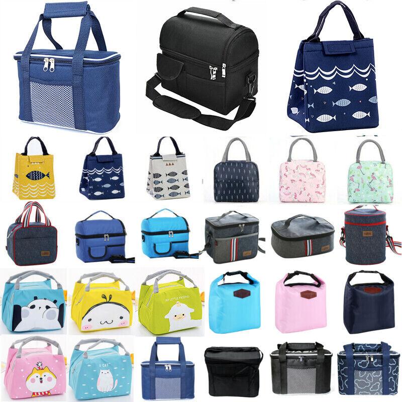 Erwachsener Kinder Lunchtasche Lunchbag Kühltasche Isoliertasche Thermotasche