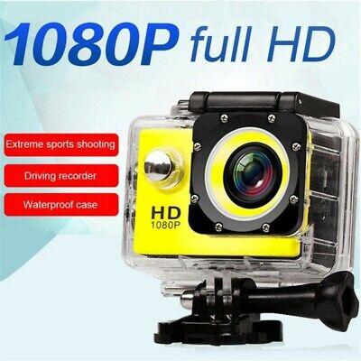 HD 1080P Ultra Sport Action Camera DVR Helmet Cam Underwater