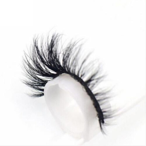 3d cils vison naturel  u00e9pais faux cils cils extension maquillage