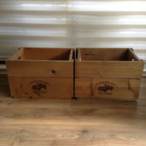 Solid Wooden Crates by Cumberland Crate Company