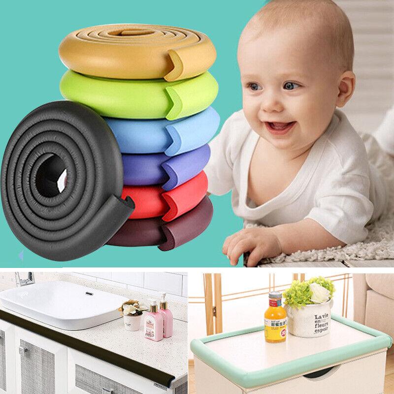 Baby Safety Table Desk Edge Corner Guard Protector Pad Child Foam Bumper Strip