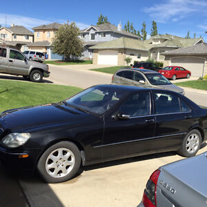 2002 Mercedes-Benz 500-Series Leather Sedan