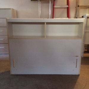 Bookcase White Headboard for Twin Bed