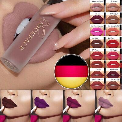 Make-up Matte Lipstick (Makeup Waterproof Matte Velvet Liquid Lipstick Long Lasting Lip Gloss Kosmetik)
