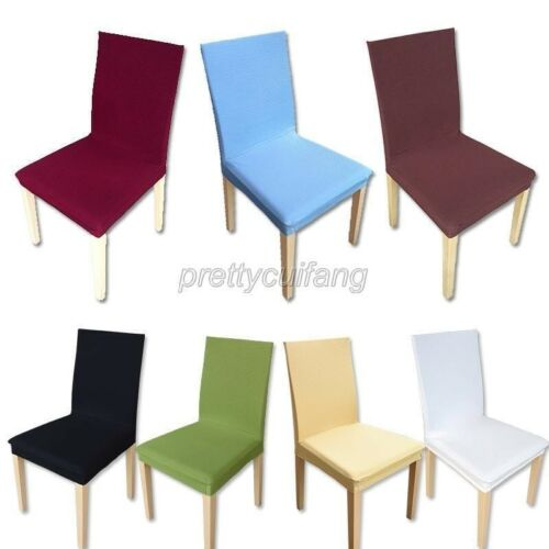 10 Colors - Super Fit Stretch Removable Decor Dining Room Ch