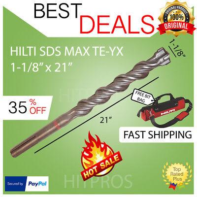 Hilti Te-yx Sds Max Hammer Drill Bit 1-18 X 21 Brand New Fast Shipping