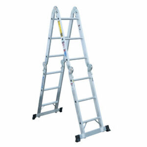 16 foot aluminum multi position ladder - priced to move