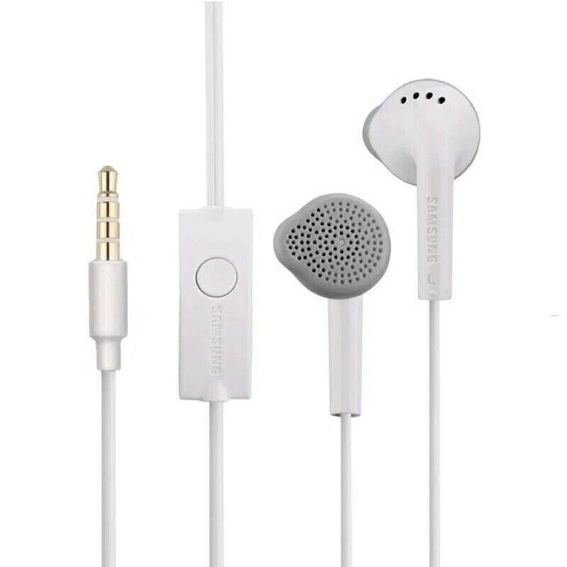 Genuine Samsung Handsfree Headphones Earphones with Mic EHS61ASFWE White Black