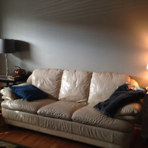 Natuzzi leather couch for sale