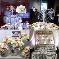WEDDING FLOWERS•CENTERPIECES•BRIDAL PARTY•RENTALS AVAILABLE