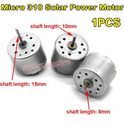 Dc 1.5v-6v 7300rpm Micro 310 Motor 24mm Round Solar Power Motor Diy Toy Car Boat