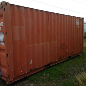 Used 20 foot container