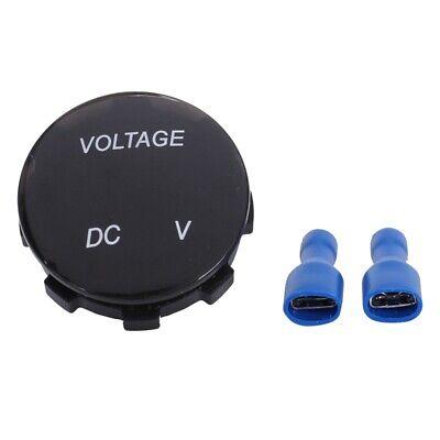 Universal Digital Monitor Voltmeter Waterproof Voltage Meter Led Blue For F9x3