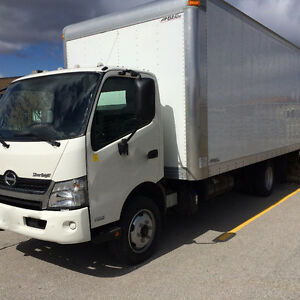 NEW LOW PRICE - 2013 HINO 195 - 20 Foot DRY VAN