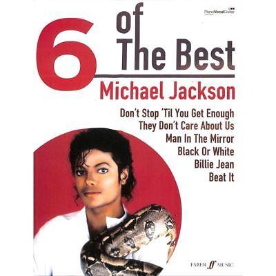 Michael Jackson - Six of The Best - Noten Songbook [Musiknoten]