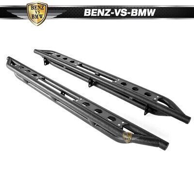"""Fits 07-21 Toyota Tundra Double/Extended Cab 6"""" Nerf Bars Side Armor"""
