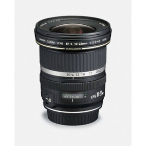 Canon EF-S 10-22mm f/3.5-4.5 USM Wide-Angle Lens