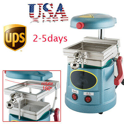 U Dental Lab Vacuum Motor Forming Molding Machine Former Thermoforming Press Fda