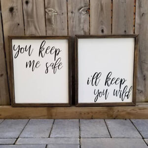 Rustic Hand-Painted Signs & Hand-Made Decor.