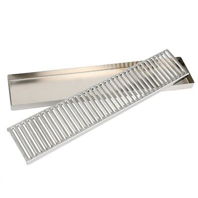 Stainless Steel Drip Tray - Surface Mount 19 X 4 No Drain Surface Mount Usa