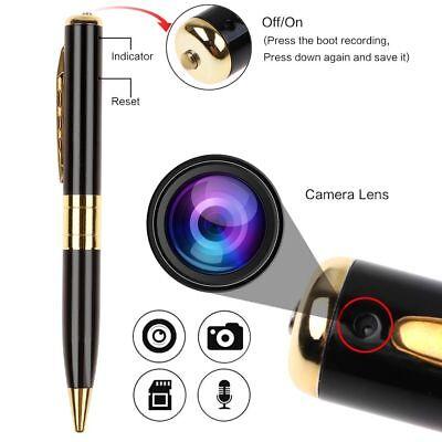 Mini Spy Pen Hd 1080P Video Dv Dvr Hidden Camera Camcorder Recorder Security Cam