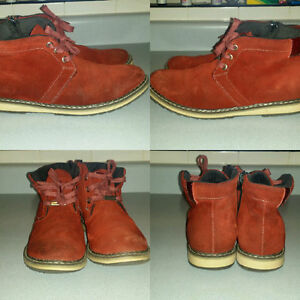 zenetti red boot (size 7.5 mens)