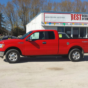2013 Ford F-150 XLT 4x4, 5.0L V8, Super Cab Pickup