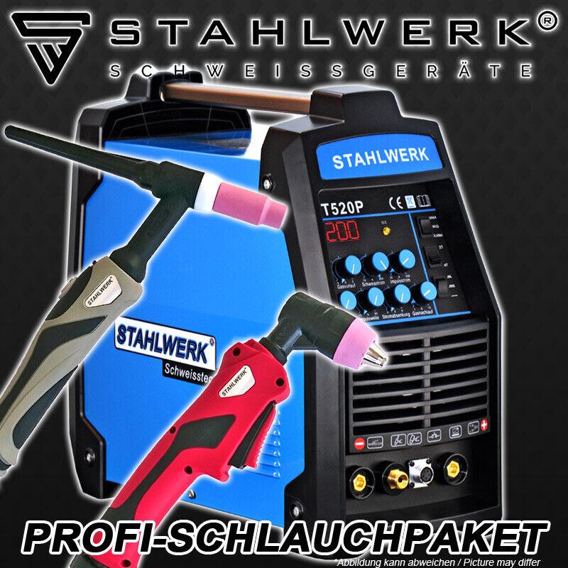 SCHWEIßGERÄT CT 520 PULS S - DC WIG INVERTER PULSFUNKTION E-HAND PLASMASCHNEIDER