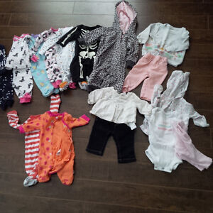 Clothing Lot-girls newborn and 0-3 months