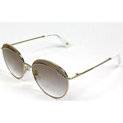 MARC JACOBS MARC-253-S-J5G-FQ-58  Sunglasses Size 58mm 140mm 17mm Gold Brand New