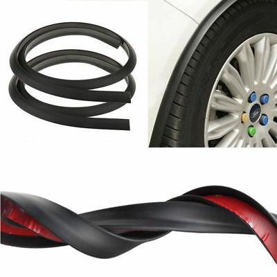2Pcs Car Fender Flare Extension Wheel Eyebrow Moulding Trim Wheel Arch Strip #