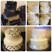 Wedding/Anniversary/Birthdays/Showers Cakes For Any Event!