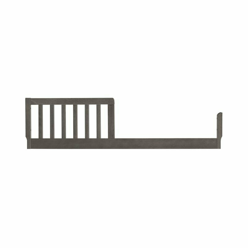 DaVinci Toddler Bed Conversion Kit in Slate and Manor Gray