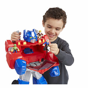 ISO: Optimus Prime Epic Playset or other large size Rescue BOts