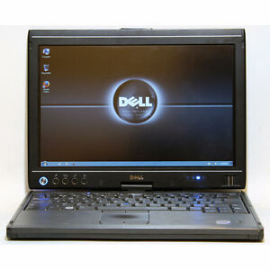 Dell Latitude XT Laptop Tablet Core2Duo WiFi 2GB RAM 120GB 12.1""